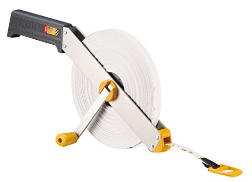Preisvergleich Produktbild Fisco Tracker–Stahl-Bandmaß und Ende Band B350m x 13mm, weiß