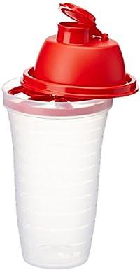Tupperware Quick Shake, 500ml (red)