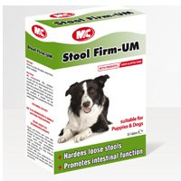 M&C Stool Firm-UM Hardens Loose Stools for Dogs & Puppies (30 Tablets) by Mark and Chapell