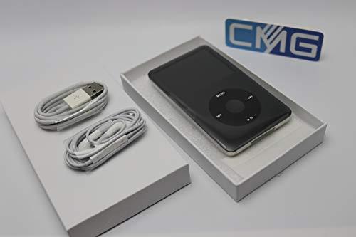 Apple iPod Classic 7.Generation 160GB 7G Grau (aktuellstes Modell) MC297QG (Spacegrey/Schwarz) inkl Gelhülle