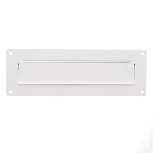 Burg-Wächter Außen-Einwurfblende, Aluminium/Verzinktes Stahlblech, Porta 796 W, Weiß