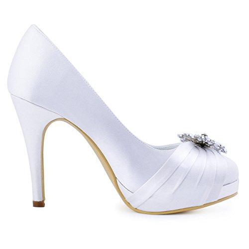 Satin Brautschuhe | High Heels