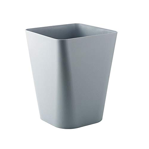 LAJIFENLEI Cubo Basura plástico sin Tapa/Cuadrado