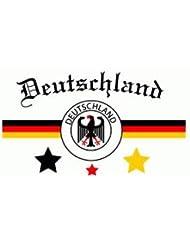 Deutschland conv.3 Fanflagge Fahne Flagge Grösse 1,50x0,90
