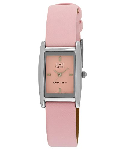 Q&Q Analog Pink Dial Women's Watch - S059-302Y image