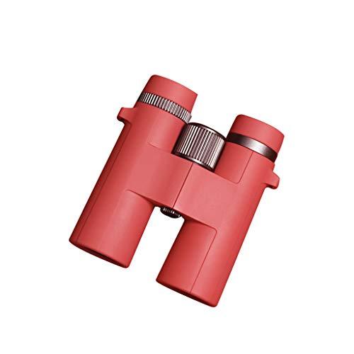 JXJJD Fernglas HD High-Light Low-Light Nachtsicht Nicht-menschliche Perspektive (Farbe : Red)
