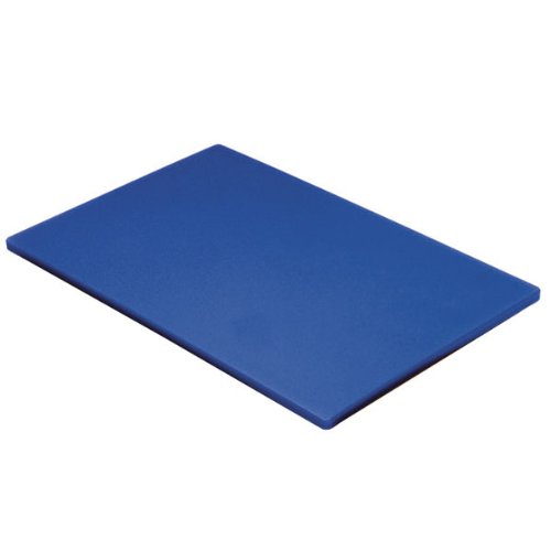 Genware BL1812Poly Schneidebrett, 45,7x 30,5x 1,3cm blau Poly Schneidebrett