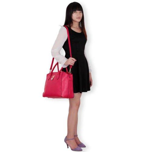 TrendStar Dames Sacs À Main Designer Sac À Bandoulière Femmes Fourre Tout La Mode Des Célébrités Rose
