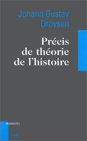 Précis de théorie de l'histoire