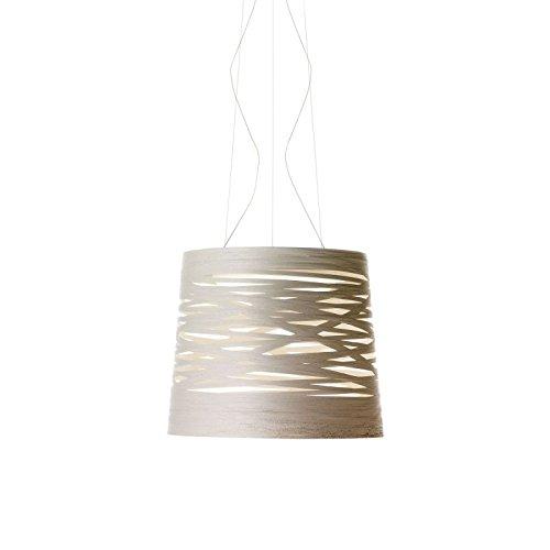 Foscarini Lampe à suspension Foscarini Tress Grande – Blanc
