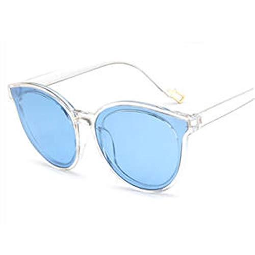 Simshew Sport-Sonnenbrille Damen-Sonnenbrillen Flexible Frames Polarized Impact mit Farblinse für Damen und Mädchen Mode (Color : Clear)