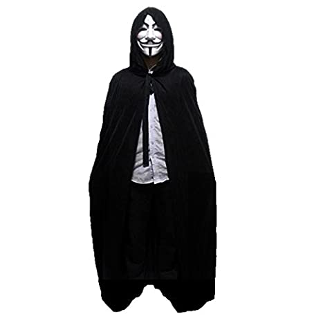 halloween capes adult cloak cloak of death the vampire magic witch doctor robe including masks-I
