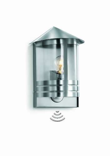 steinel-l-170-s-stainless-steel-sensor-switched-outdoor-light-with-180-motion-detector-and-12-m-rang
