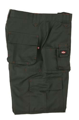 Lee Cooper Workwear LCPNT206 Cargo Pant, 36L, schwarz, 36