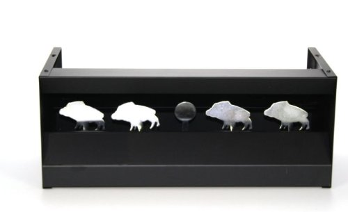 Kugelfang Wildschwein Keiler 49,5x20,5x22 schwarz / Kugelfangkasten zu InnoMar
