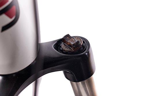 CHRISSON 27,5 Zoll E-Bike Mountainbike Bosch - E-Mounter 2.0 Weiss - Elektrofahrrad, Pedelec für Damen und Herren mit Bosch Motor Performance Line 250W, 63Nm - Intuvia Computer und 4 Fahrmodi