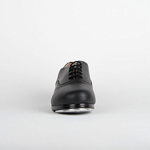Stepplatten Steppschuhe So M mit Weite und Pads Gummi Danca Black xpq4HvqX
