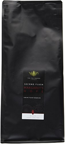 The Tea Makers of London Darjeeling Margarets Hope FTGFOP1 Second Flush schwarzer Tee vom Teekontor, 1er Pack (1 x 500 g)