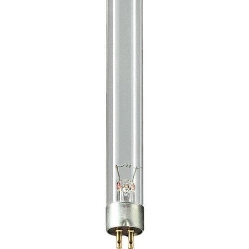 Philips Leuchtstofflampe, Ersatzleuchtmittel UV-C TL, 11 W, transparent, 21.1 x 2 x 2 cm, SB708AMA (Garten-oase Sockel)