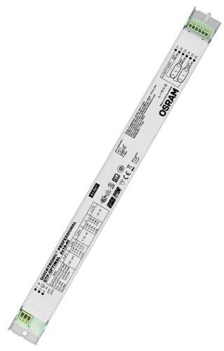 Osram – QTP-Optimal 2 x 18 – 40 Vorschaltgerät (Farbe: Weiß, geeignet für Leuchten mit Schutzklasse III, Nennspannung: 220–240 Volt (50/60 Hz), Gewicht: 243,7 g)