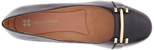 Naturalizer Joyce Cuir Chaussure Plate Black