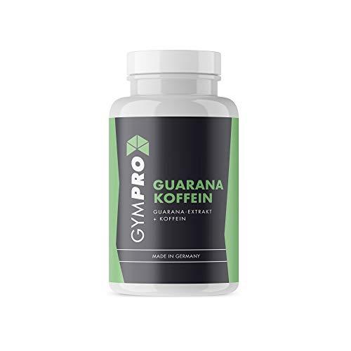 Guarana Kapseln & Koffein - Kraftvoll und effektiv gegen Müdigkeit - Booster in naturqualität Made in Germany - 3 Monatspackung (100)