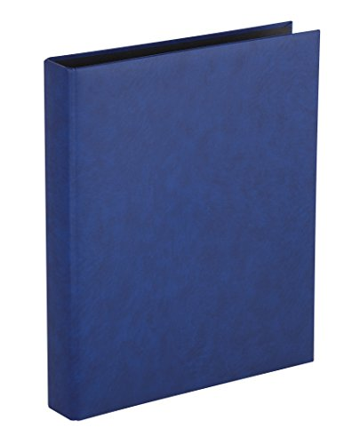 Preisvergleich Produktbild Herma 7553 Foto Ringalbum Ringbuch Classic (Format 26,5 x 31,5 cm, aus Vinyl, 4 Ringe, für max. 30 Blatt/60 Seiten) 1 Stück, blau