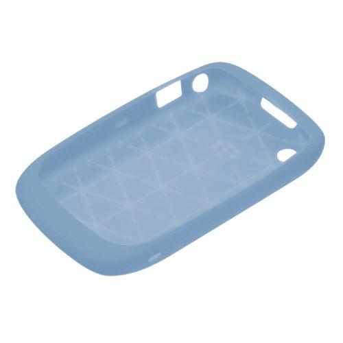 BlackBerry Silikonhülle (Skin) für BlackBerry Curve 9300 / 8520, hellblau - Blackberry 8520 Bildschirm