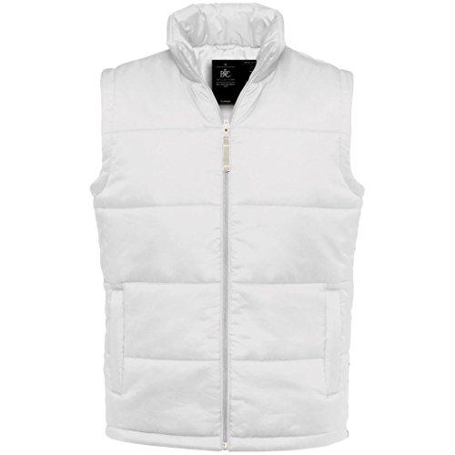 B&C Collection - Manteau sans manche - Homme Blanc