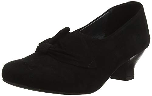 Hotter Donna, Escarpins Bout  ferm femme - Noir (Jet Black 26), 38 EU (5 UK)