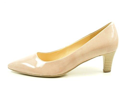 Gabor 71-250 Schuhe Damen Pumps Weite F Kaffir Lack , Schuhgröße:38.5;Farbe:Rosa