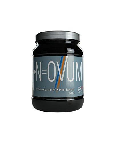 NOVUM Pre-Workout Booster • Gesundheitsprodukt • Studienbasiert • Made in Germany • Bessere Durchblutung durch NO • FOKUS Supplement • Aminosäuren & Pflanzenextrakte • 500g