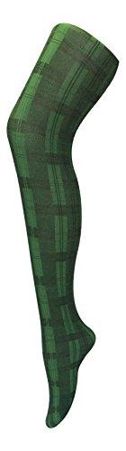 Sock Snob - Damen undurchsichtig gemustert farbig winter 80 den strumpfhose in verschiedenen farben größe 36-42 eur (36-42 eur, Grün Skye) (Strumpfhose Farbige Blickdichte)