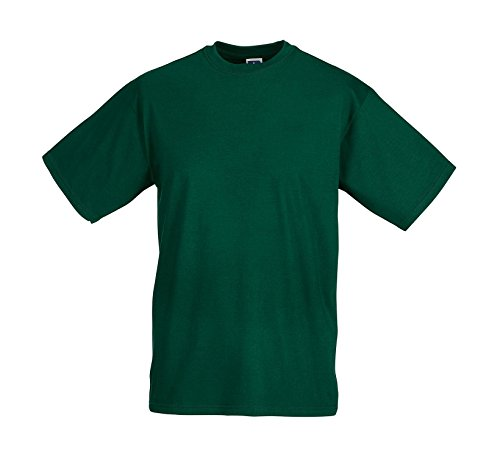 Leichtes T-Shirt Bottle Green