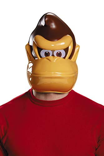 Generique - Donkey Kong Maske für Erwachsene Nintendo (Bros Maske Mario)