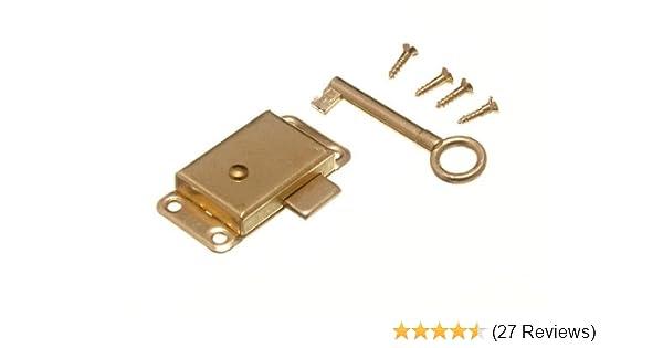 NEW WARDROBE CUPBOARD DRAWER CABINET DOOR LOCK SPARE KEYS 63MM BOX OF 48