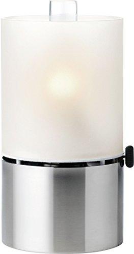 Stelton 1008 Öllampe mit Glasschirm satiniert (Milchglas-zylinder)