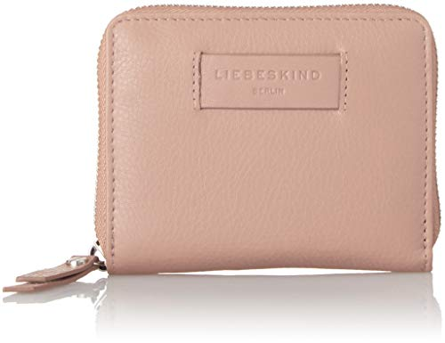 Liebeskind Berlin Damen Essential Conny Wallet Medium Geldbörse, Pink (Dusty Rose), 3x11x13 cm
