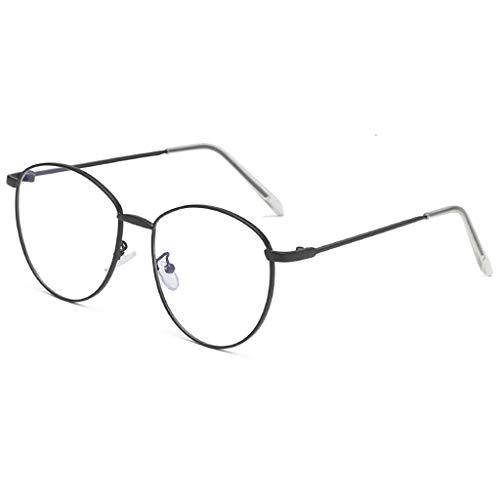 EUCoo Uv-Schutz Sonnenbrille Sommer MäNner Und Frauen PersöNlichkeit Brillengestell Punk Wind Brille