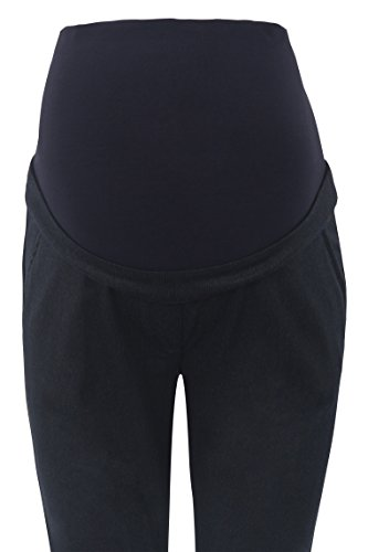Bellybutton Hose M. Überbauchbund, Pantaloni Donna Blu (Black Iris 3800)