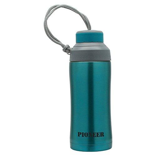 Pioneer Stainless Steel Vacuum Insulated Leakproof Screwtop Sports Flask 380ml