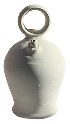 BOTIJO VALENCIANO ARTESANAL (35X19) 4,25 LITROS. Recipiente de barro cocido y poroso diseñado para beber y conservar el agua fresca. ENVIOS SOLO PENINSULA