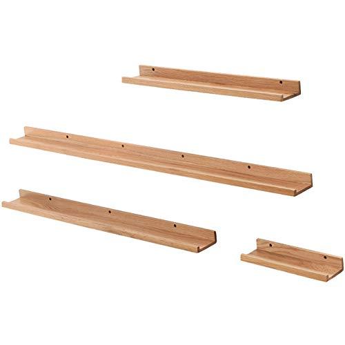Whydianpu parete divisoria in legno massello per soggiorno parete attrezzata per soggiorno scaffale di stoccaggio (colore : colore del legno, dimensioni : width -10.5 cm)