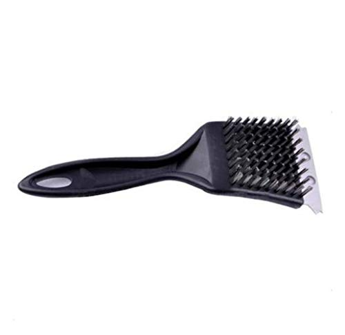 Inllex Stainless Steel BBQ Cleaning Brush Outdoor Grill Cleaner Steam BBQ Accessories Scraper Cleaning Tool Kitchen Gadgets