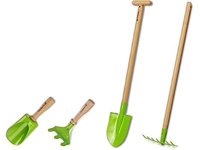 EverEarth EE20002 - Gartengeräte Pflanz-Set für Kinder