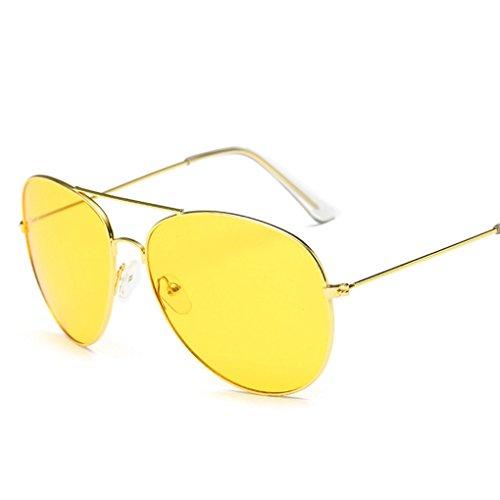 Preisvergleich Produktbild Sunglass Vovotrade Vintage Square Mirrored Eyewear Outdoor Sport Brillen (I)