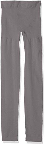 bellycloud Shape Figurformend, Seamless, Leggings Modellanti Donna (Pacco da 2) Grau (Anthrazit 032)
