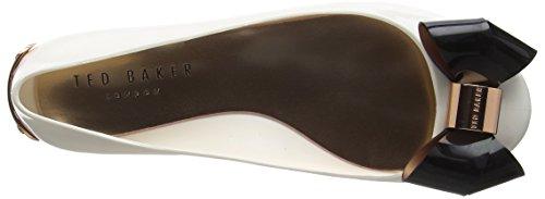 Ted Baker Faiyte Damen Pumps Elfenbein (Cream/Black)