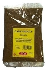 CARVI Poudre - Moulue 100 grammes en sachet, EXCELLENTE QUALITE