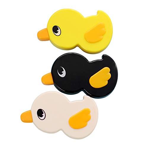 Cuigu 6Mx 5mm Ente Lustiges Klebeband Weiß Büro Schulbedarf Schreibwaren (Gelegentliche Anlieferung) (Klebeband Ente)